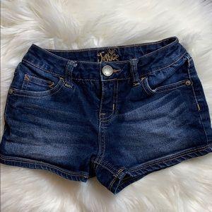 Girls Justice Denim Shorts size 8